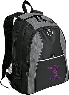 backpacks gymnastics logo