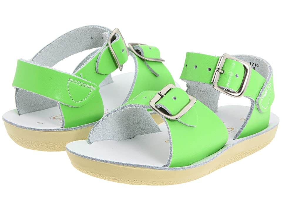 Salt Water Sandal by Hoy Shoes Sun-San Surfer (Toddler/Little Kid) (Lime Green) Kid