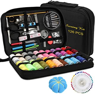 Marcoon Sewing KIT, DIY Sewing Supplies with Sewing Accessories, Portable Mini Sewing Kit for Beginner, Traveller and Emer...