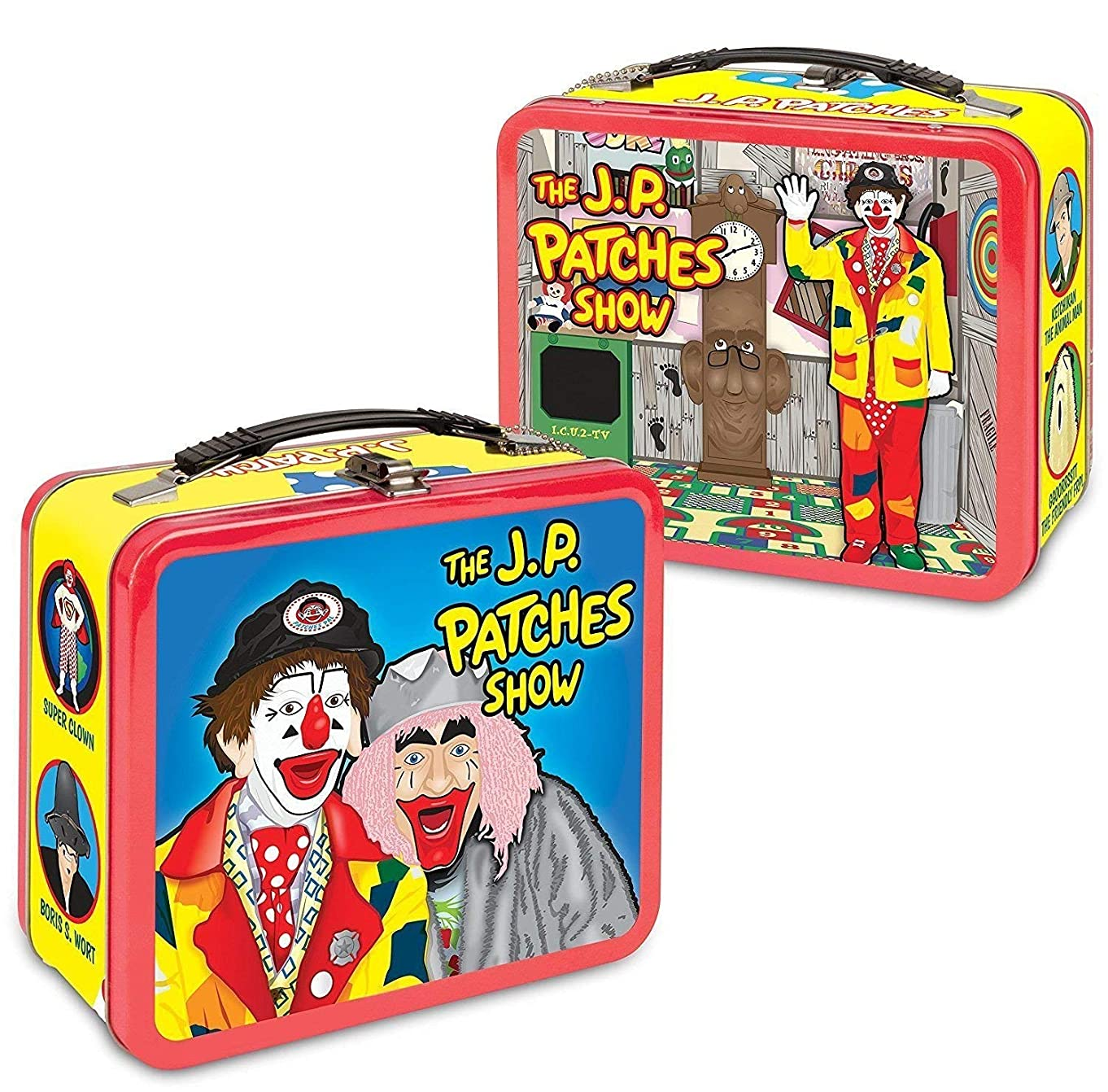 J.P. Patches Metal Lunchbox