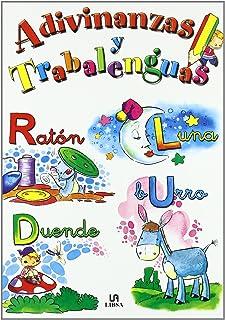 Adivinanzas y Trabalenguas (Libros de Entretenimiento) (Spanish Edition)