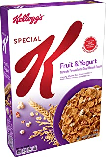 Kellogg's Special K, Breakfast Cereal, Fruit and Yogurt, Low Fat, 13oz Box
