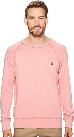 Spa Terry Long Sleeve Knit Sweatshirt