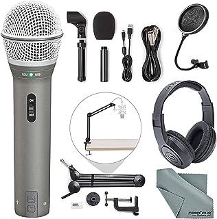 Samson Q2U Dynamic USB Microphone Podcasting Pack and...