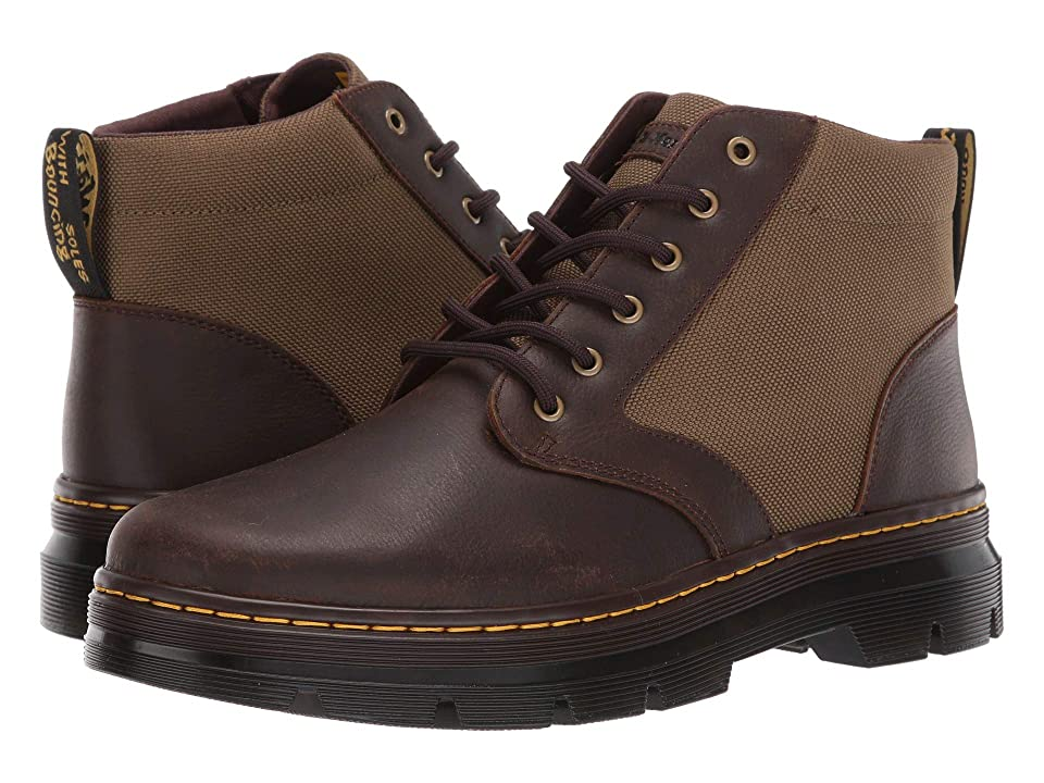 Dr. Martens Bonny II Tract (Dark Brown/DMS Olive) Boots