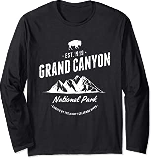 Grand Canyon National Park Arizona Souvenir Gift Long Sleeve T-Shirt