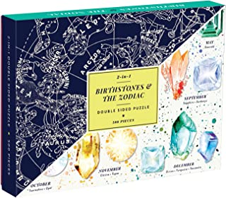 Galison Birthstones & The Zodiac 2-Sided 500 Piece Puzzle