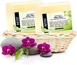 Pifito Aloe Vera Melt and Pour Soap Base (5 lb) │ Bulk Premium 100% Natural Glycerin Soap Base │ Luxurious Soap Making Sup...