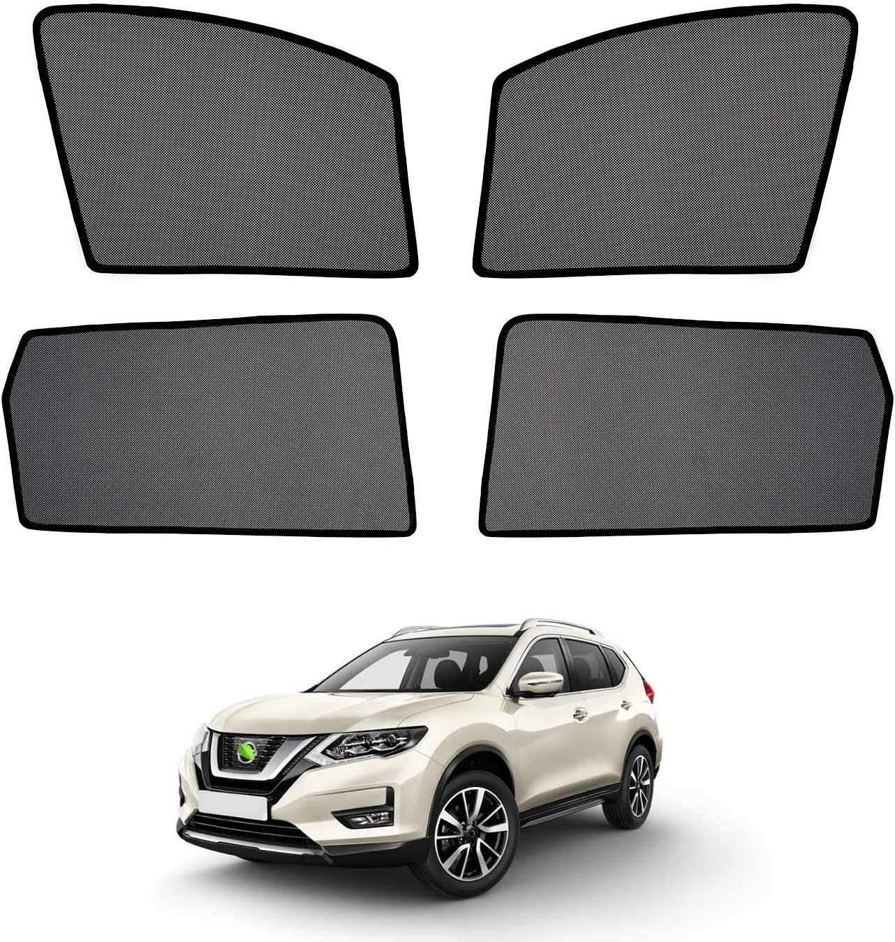 Cartist Car Side Window Sunshades famous Rogue Nissan Tampa Mall 2014-2020 for