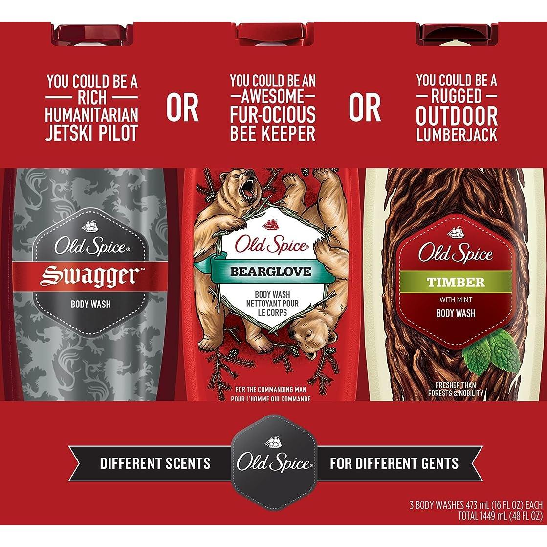 監督するいとこ未亡人Old Spice Body Wash Variety Pack (16 fl. oz., 3 pk by Procter & Gamble [並行輸入品]