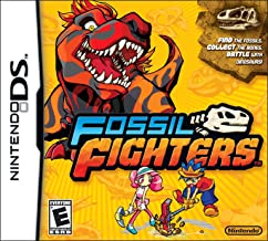 fossil fighters ds game