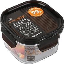 Lock & Lock LBF-450 Bisfree Modular Food Container Square 260ml,Brown