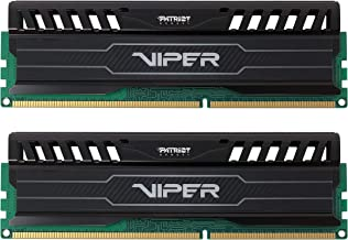 Patriot 16GB(2x8GB) Viper III DDR3 1600MHz (PC3 12800) CL9 Desktop Memory With Black Mamba Heatsink - PV316G160C9K