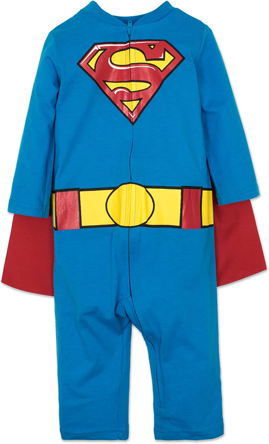 Warner Bros. Batman Superman Baby Coveralls Costume Boys' Free Deluxe Shipping Cheap Bargain Gift with