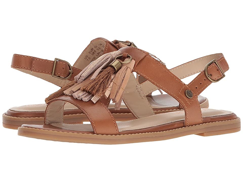 Hush Puppies Chrissie Tassel (Tan Leather) Women