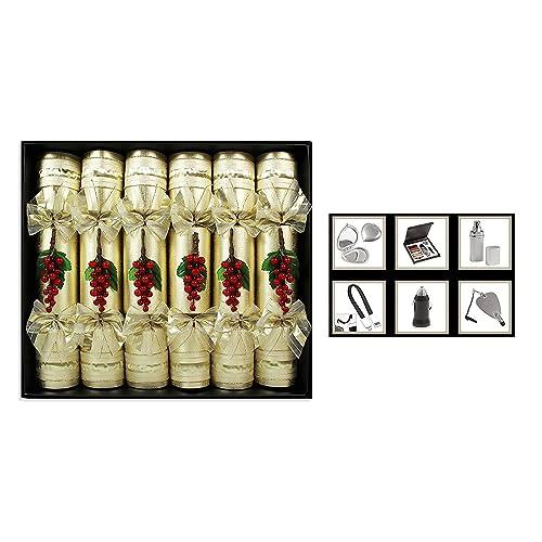 Christmas Crackers Contents.Luxury Christmas Crackers Amazon Co Uk