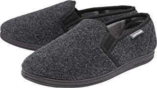 Men/'s Dunlop Lance Carpet Slippers UK Size 9 Durable Outer Sole Elasticated ***