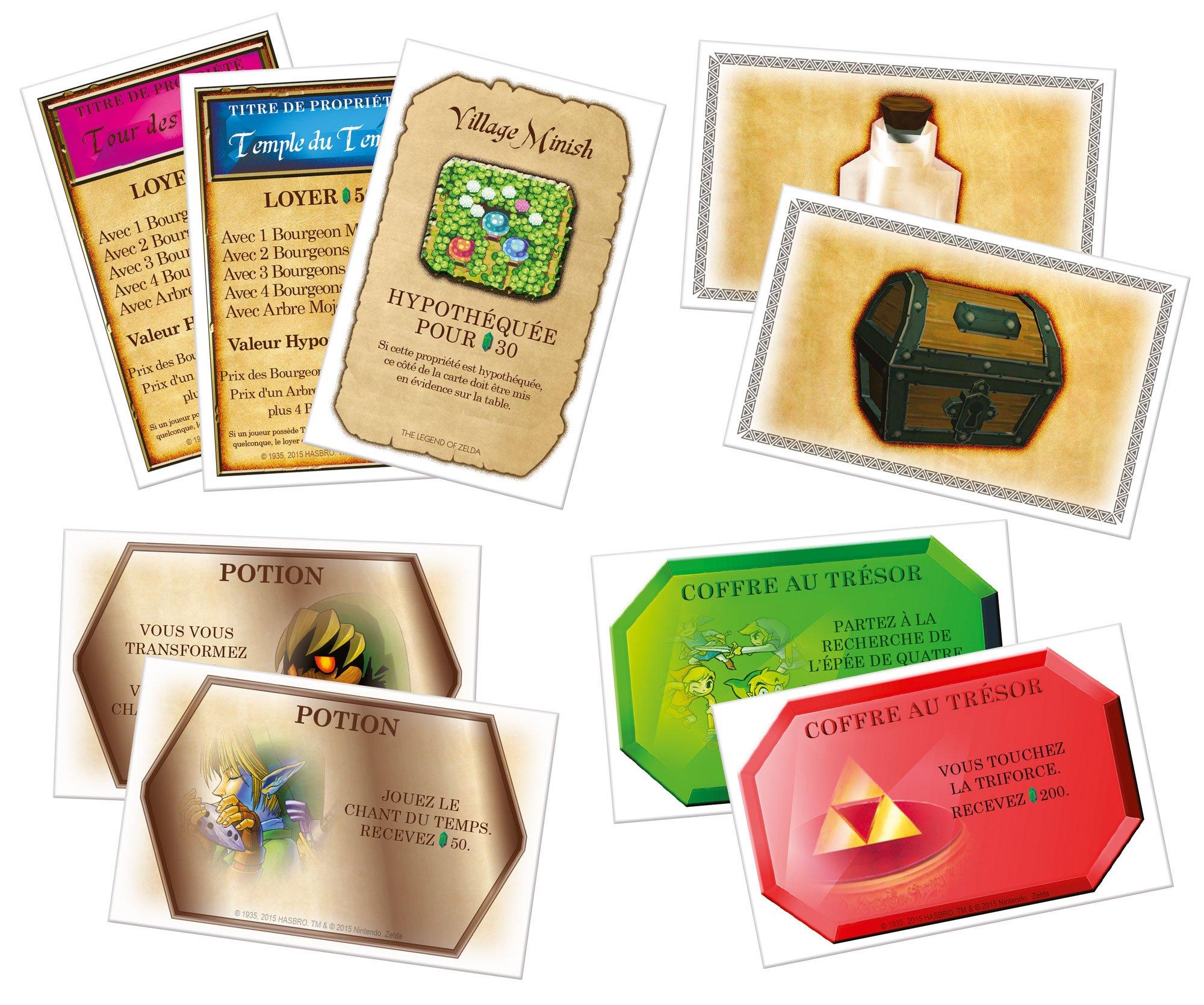 Winning Moves - Monopoly: The Legend of Zelda (967) (versión en francés): Amazon.es: Juguetes y juegos