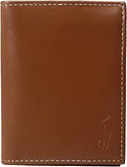 Polo Ralph Lauren Calf Leather Billfold w/ Window
