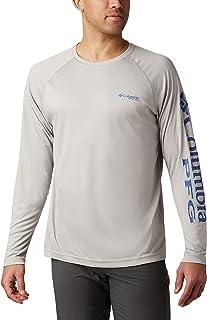 Camicia a Maniche Lunghe Uomo Columbia Long Sleeve Shirt PFG Zero Rules