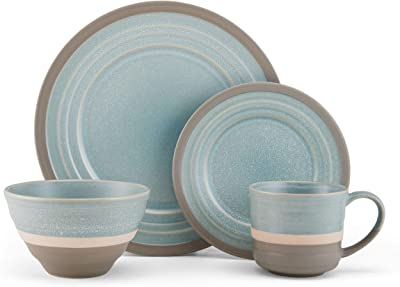 Pfaltzgraff Adina 16-Piece Dinnerware Set, Assorted