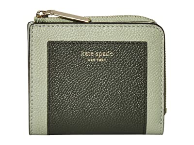 Kate Spade New York Margaux Small Bifold Wallet (Deep Evergreen Multi) Bi-fold Wallet