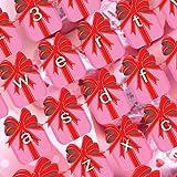 ピンクのバレンタインデーのキーボード