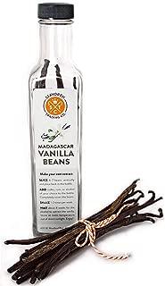 1 LB Madagascar Bourbon Vanilla Beans; Sustainably Sourced Grade A Whole Vanilla Beans
