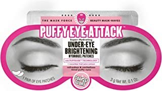 Soap & Glory Puffy Eye Attack Under-Eye Brightening Hydrogel Patches, pack of 1
