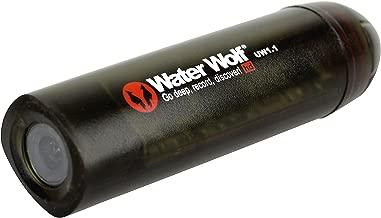 Water Wolf - Cámara de Pesca submarina Unisex UW1.1HD, Negro
