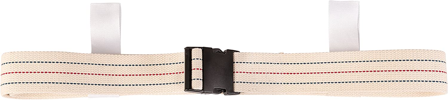 DMI Cotton famous Physical Therapy Gait Albuquerque Mall Transfer Belt with Handles