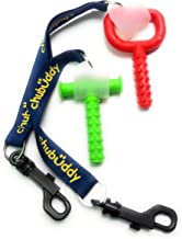 """chubuddy Chewy Holder Combo Pack Set (2) WITH Chewy Tube & Super Chew INCLUDEDChewy Tubes is a registered mark of Speech Pathology Associates, LLC ."""""""