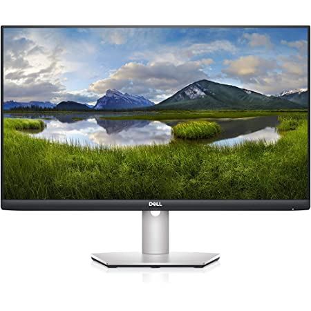 Dell S2721HS 27 Inch Full HD 1920 x 1080, AMD FreeSync, IPS Ultra-Thin Bezel Monitor, Tilt and Swivel, Silver