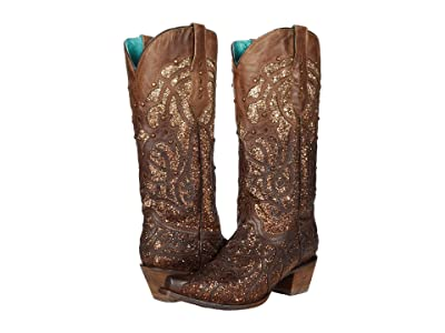 Corral Boots C3331A (Distressed Brown) Women