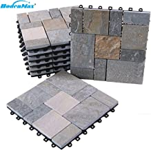 30 cm x 30 cm Boden Max piastrelle per terrazzo set di piastrelle a incastro prato artificiale prato sintetico in plastica