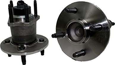 Brand New (Both) Rear Wheel Hub and Bearing Assembly for Chevy Cobalt; Pontiac G5, Pursuit; Saturn Ion(1,2,3) 4 Lug W/ABS (Pair) 512247 x2
