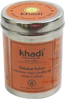 Khadi - Shikakai Powder - Care for Dandruff & thinning Hair - Alleviates Itchy Scalp - Replaces Shampoo & Conditioner - Provides Silky Shine & Volume