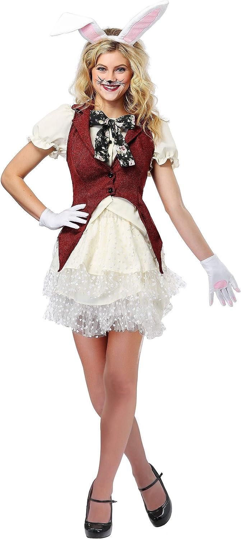 nuevo estilo Wohombres blanco Rabbit Fancy Fancy Fancy dress costume Medium  nueva marca