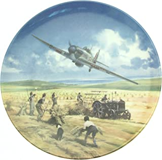 Bradford Exchange Royal Doulton Hurricane Victory Pass Heroes of the Sky plate CP666