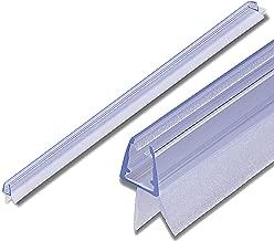 2PCS 6mm Sealis Guarnizione Ricambio GOLDGE Guarnizione Doccia Sottoporta 100cm Addensato Guarnizioni Box