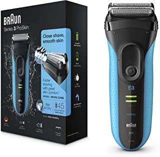 Braun Series 3 ProSkin 3040s Electric Shaver, Wet and Dry