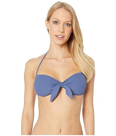 Eberjey Alta Mare Lola Bikini Top (Blue Indigo) Women
