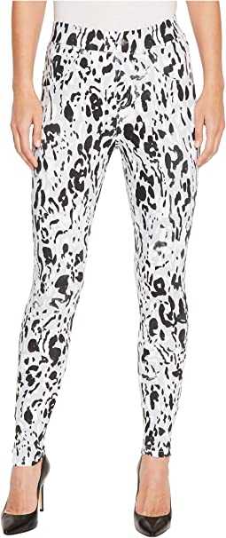 HUE Inked Animal Denim Leggings
