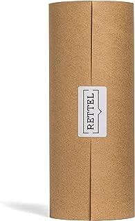 Rettel - Rettel Roller Replacement Roll, Kraft Paper Roll, Wall Decor (Brown, 12 Inch)