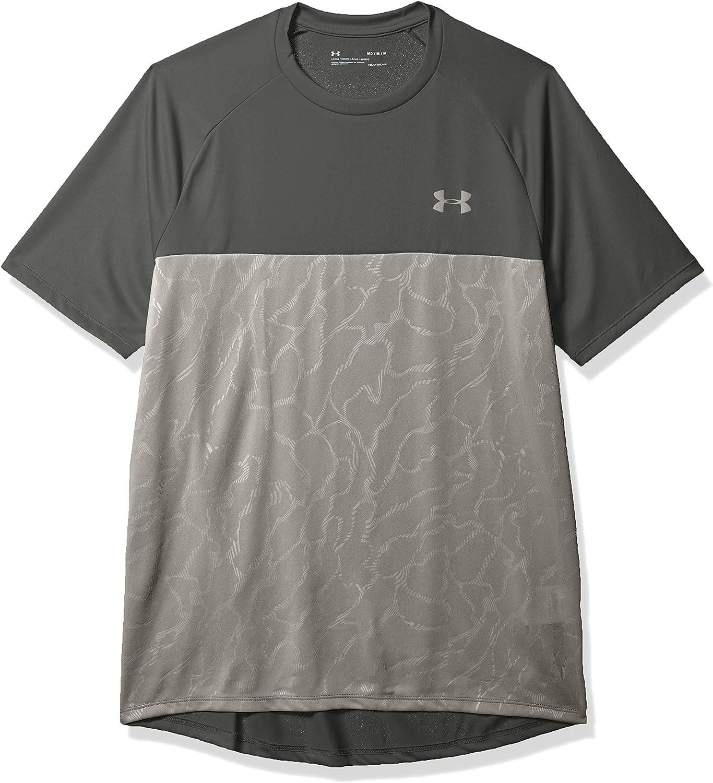 Under Armour Tech 2.0 Emboss Short Sleeve Training Workout Shirt Manga Corta Hombre