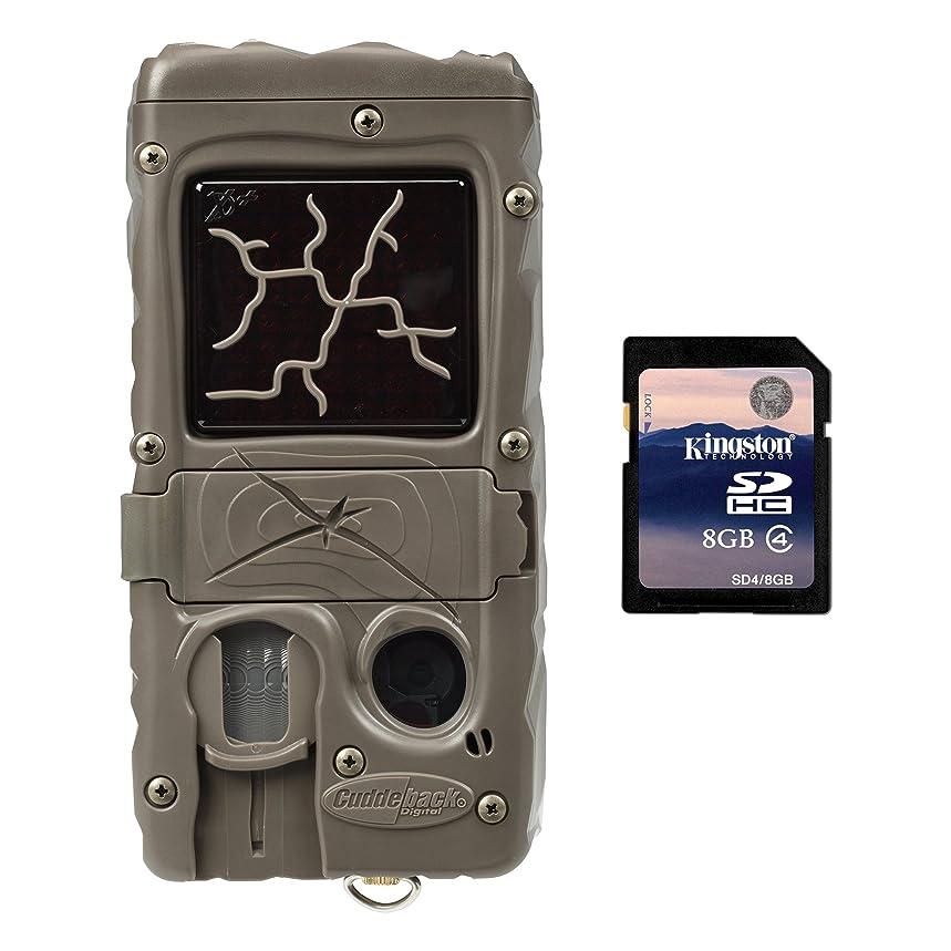Cuddeback Dual Flash 20MP Invisible Infrared Game Trail Camera + 8GB SD Card