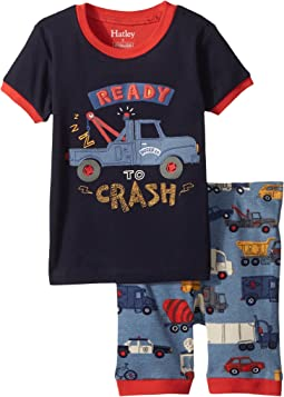 Rush Hour Applique Short Pajama Set (Toddler/Little Kids/Big Kids)