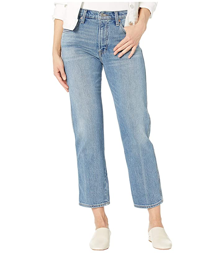 Lucky Brand  Authentic Straight Crop Jeans in Louise (Louise) Womens Jeans