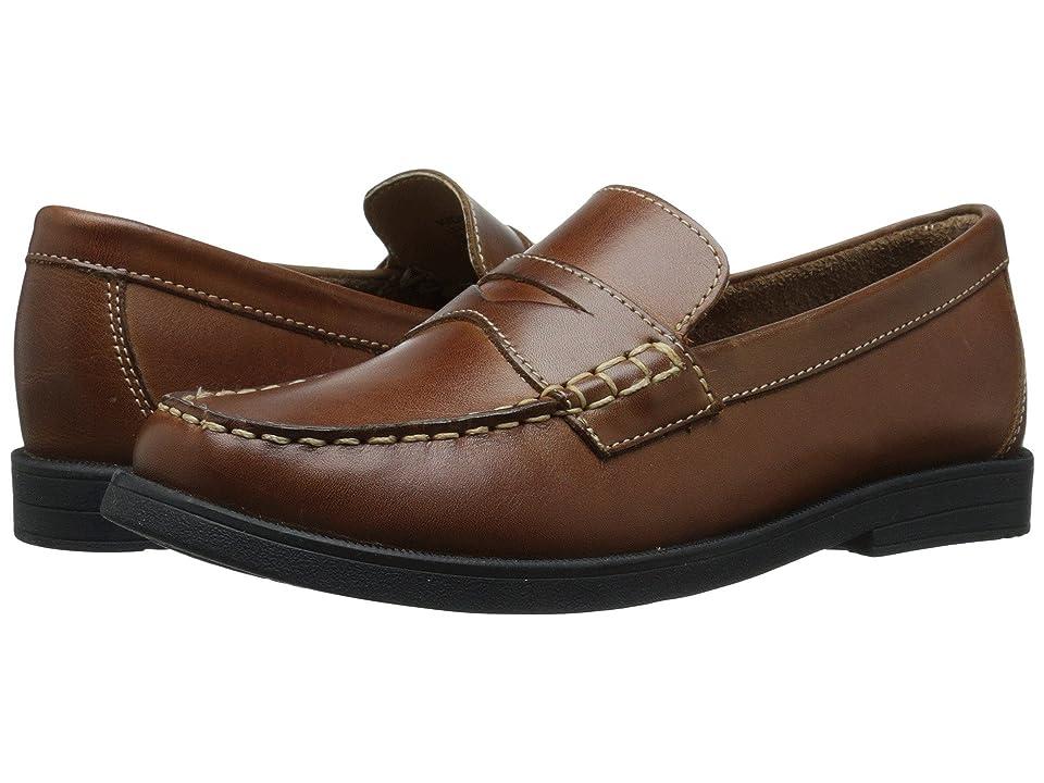 Florsheim Kids Croquet Penny Loafer Jr. (Toddler/Little Kid/Big Kid) (Saddle Tan) Boys Shoes