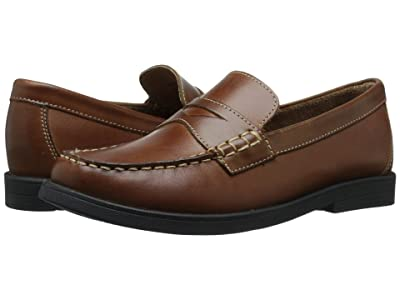 Florsheim Kids Croquet Penny Loafer Jr. (Toddler/Little Kid/Big Kid) (Saddle Tan) Boys Shoes